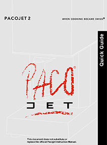 Quick Guide Pacojet 2