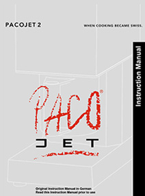 Product Specifications Pacojet 2