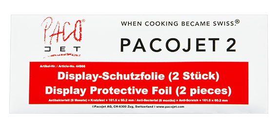 Pacojet products, accessories, Screen Protector - display protective foil for Pacojet 2
