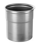 Chrome steel beaker